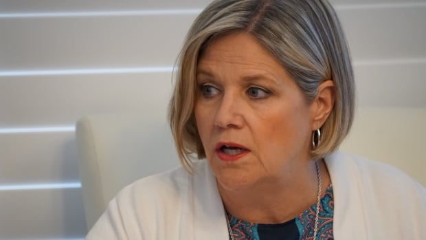 Ontario NDP Leader Andrea Horwath spent Monday at round table discussions with southwestern Ontario families discussing long term health care.