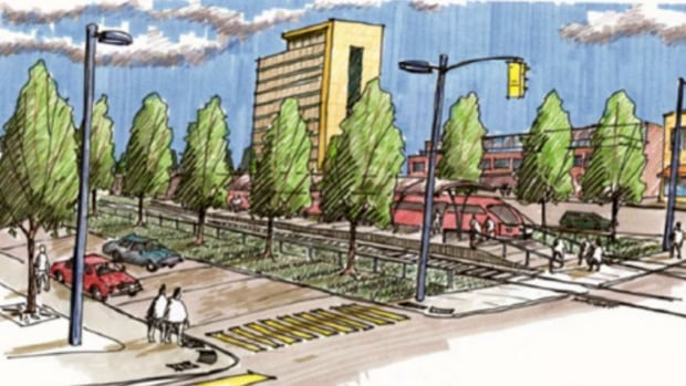 Concept art for Limebank Station