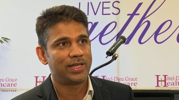 Dr. Raj Atikukke, the founder of ITOS Oncology, uses molecular diagnostic technology to study cancer biopsies looking for DNA mutations that can help pinpoint specific types of cancer.