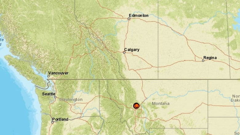 Montana Earthquake Rattles Residents In Alberta B C Cbc News