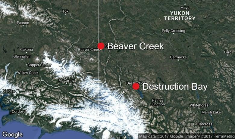 beaver creek destruction bay