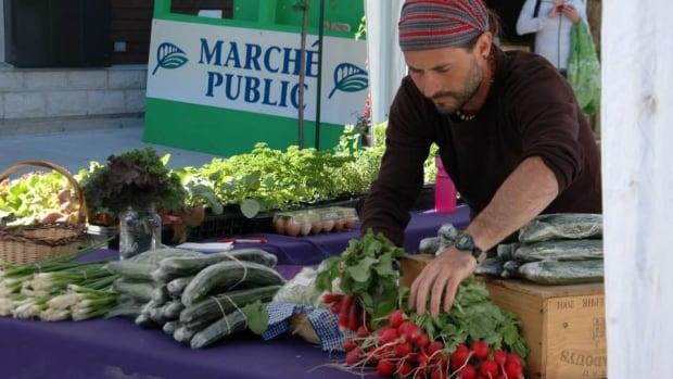 Lac-Mégantic's public market is one local attractions you might find on a tour conducted by a resident greeter.