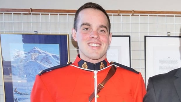 Const. Austin MacDougall was killed while cycling west of Edson Wednesday night.