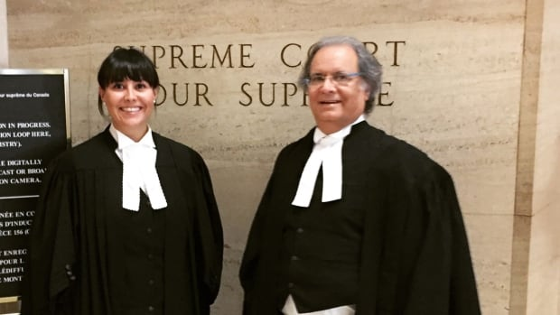Karenna and Paul Williams at the Supreme Court of Canada