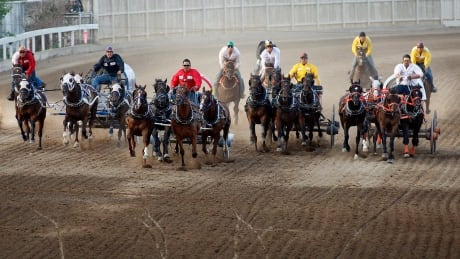 Calgary Stampede Chuckwagons (Heat of the Moment 2017)