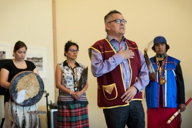 Ekuanitshit Chief Jean-Charles Petashue