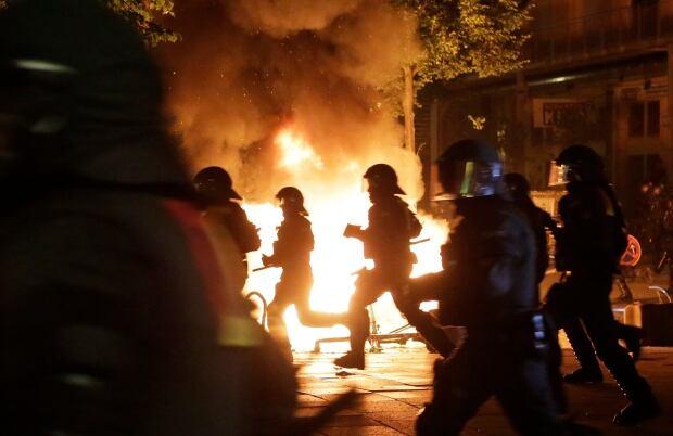 APTOPIX Germany G20 Protests
