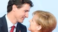 Trudeau G20 Germany 20170707 TOPIX