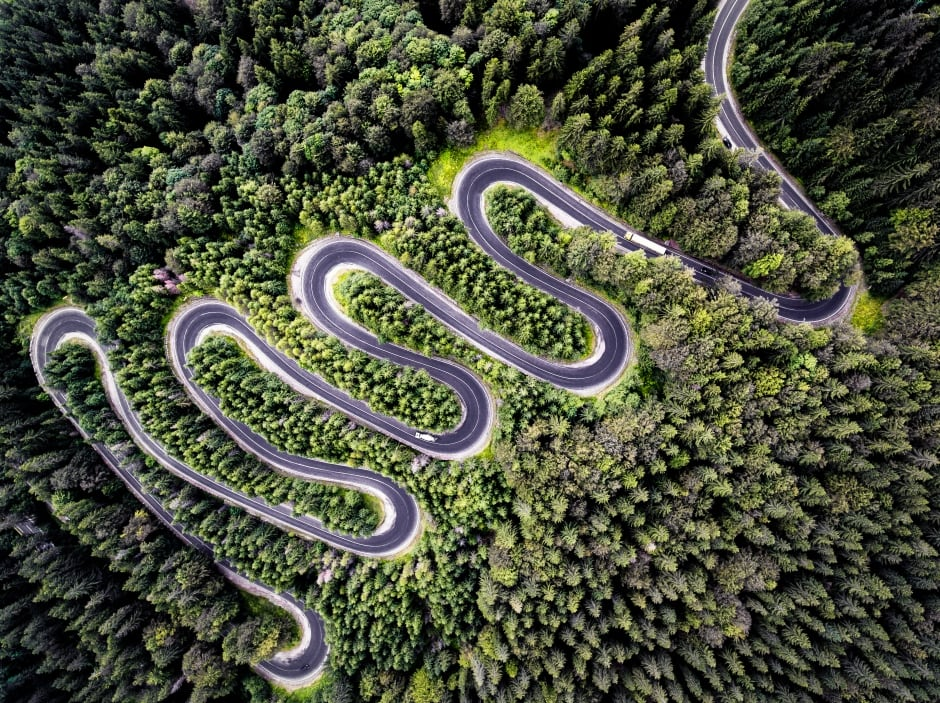 Nature/2nd Prize Winner, category nature, Infinite road to Transylvania, Romania by Calin Stan.jpg