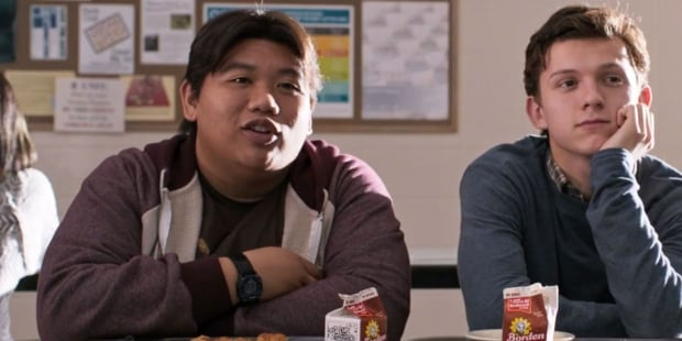 Ned and Peter Parker