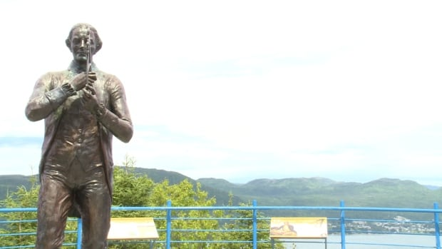 Captain James Cook monument in Corner Brook