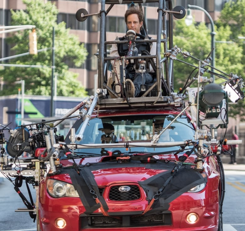 meet the stunt driver behind baby driver s crazy car chases cbc radio