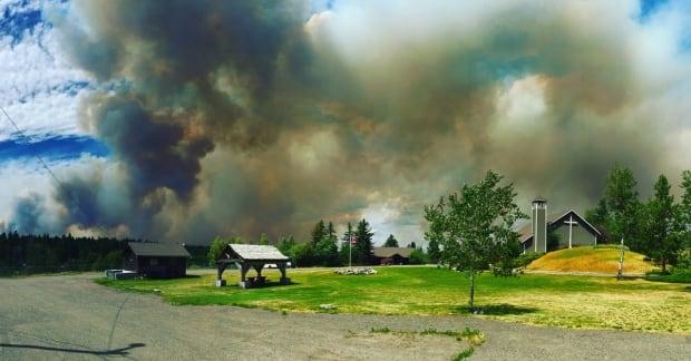 Gustafsen wildfire