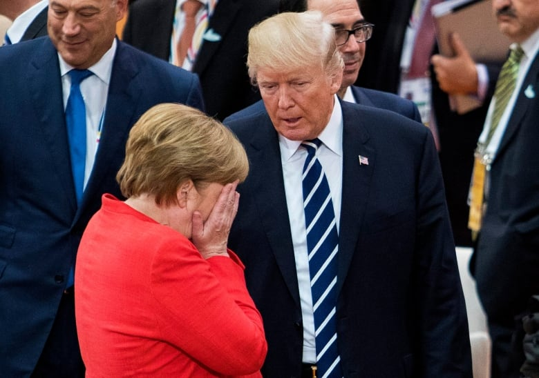 Image result for trump merkel g20
