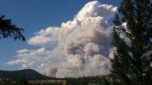 Princeton wildfire bc