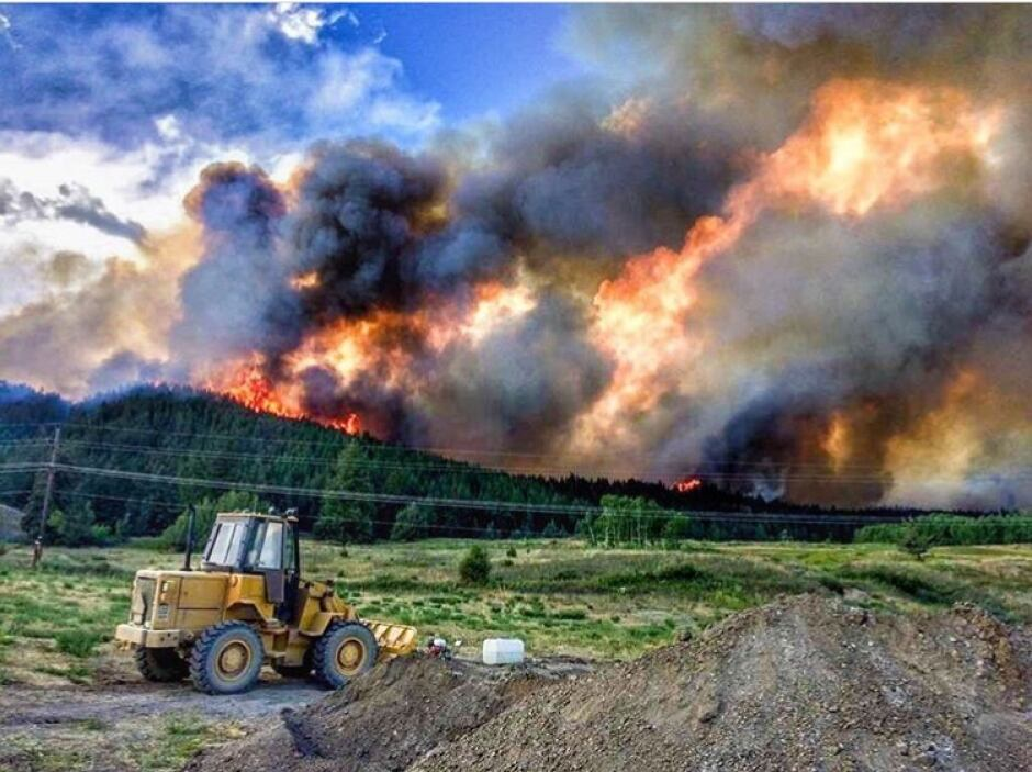 williams lake wildfire