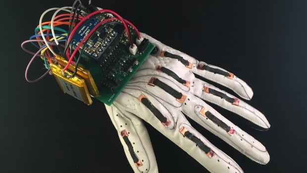 Researchers at the University of California San Diego created a glove that follows the hand's motions, which they tested by using American Sign Language.