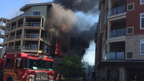 kelowna apartment fire