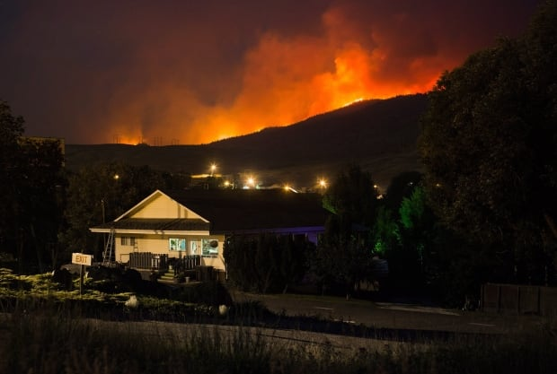 In Wildfire Destruction Tiny BC Interior Community At Least