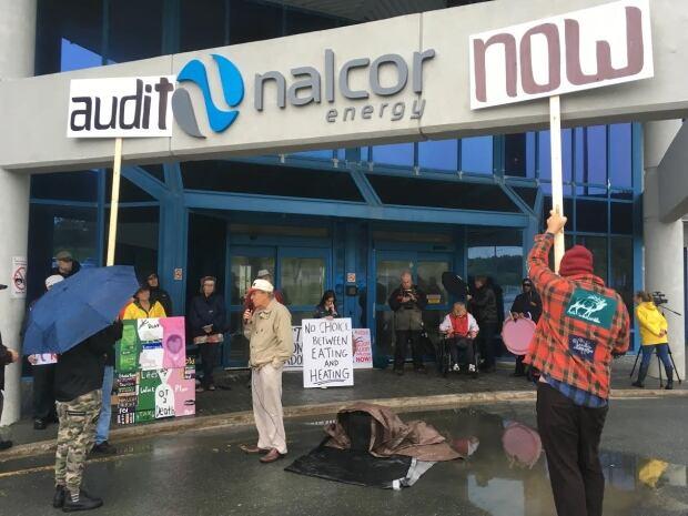 Nalcor protest