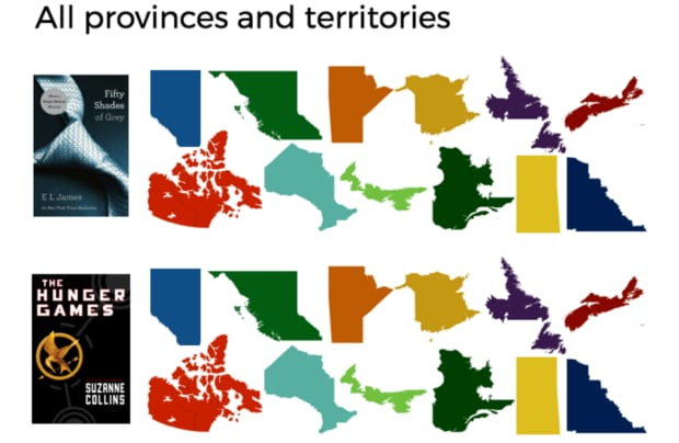 popular books in Canada