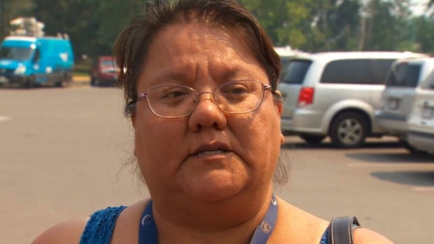 Angie Thorne's home was destroyed in a wildfire that burned through the Ashcroft Reserve in B.C.