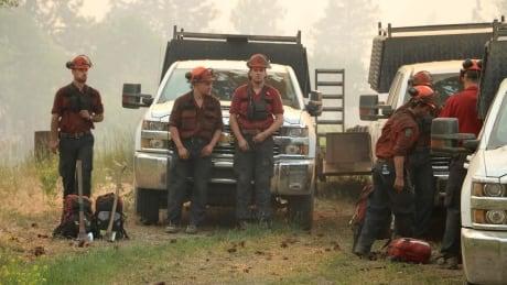 Princeton wildfire