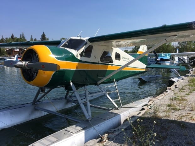 Yellowknife float plane dock