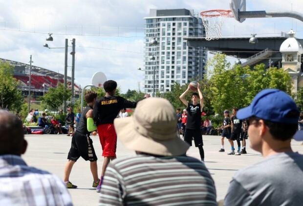 3-on-3 basketball tournament lansdowne park ottawa