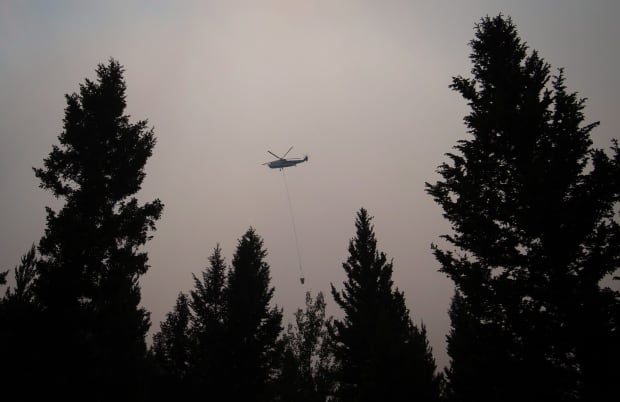 helicopter cache creek bc wildfire