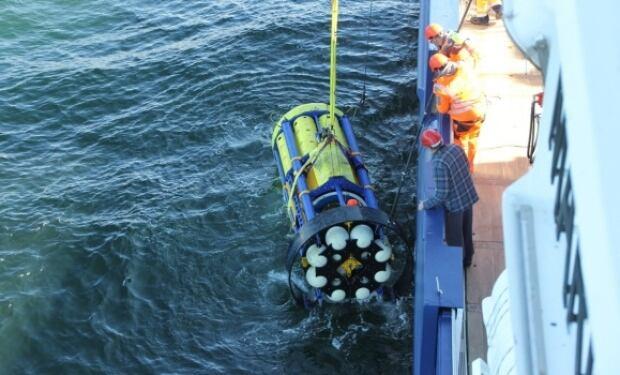 SeaCycler ocean sensor