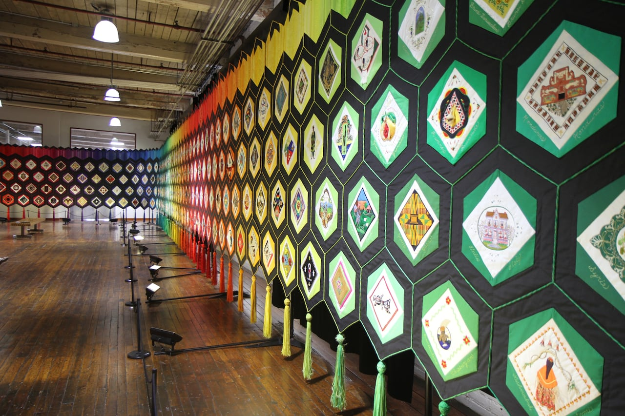 Stitching Together the Stories of a Nation The Quilt of Belonging