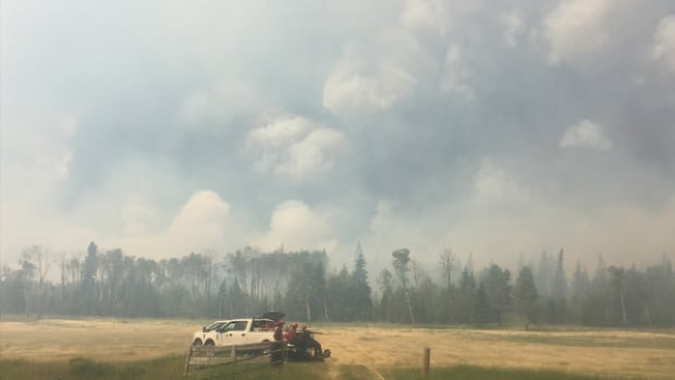 Weather improvement for BC wildfires, but crews brace for lightning, wind