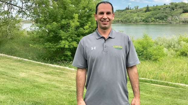 Saskatchewan chef de mission Mike Tanton says the North American Indigenous Games kept him motivated and out of trouble.