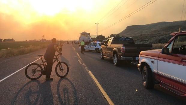 Cache Creek B.C. Wildfire 2017