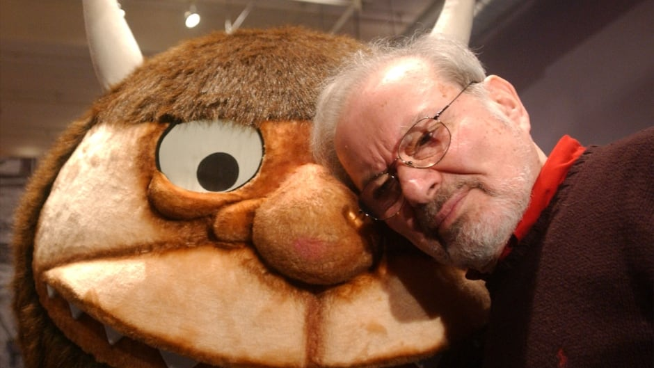 Children's author and illustrator Maurice Sendak, seen here posing with a character from his beloved book Where The Wild Things Are, died in 2012.