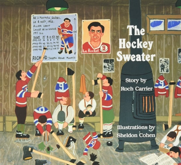 BOOK COVER: The Hockey Sweater by Roch Carrier