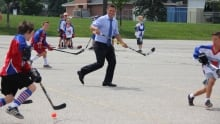 Ball hockey kitchener patrick brown