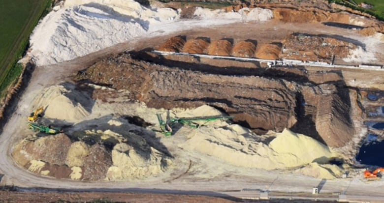 Compost facility near Calgary stockpiled 95 times more
