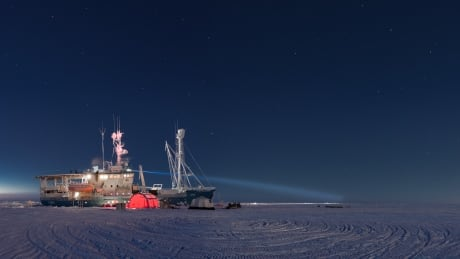 research ship arctic ice