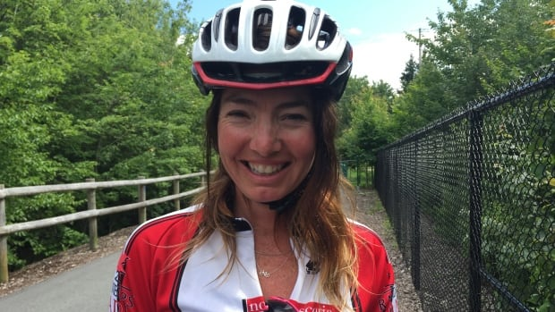Micheline McWhirter was part of a group of eight cyclists - and the only woman - to complete a 1,000 kilometre brevet last weekend from Halifax to Cape Breton and back.