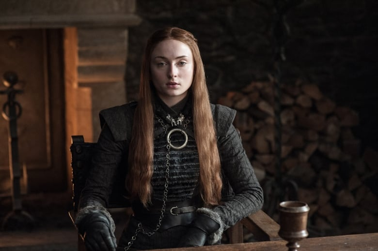 Sansa Stark, played by Sophie Turner, took her place as queen of the North, while her sister Arya headed west over the ocean. (HBO Canada)
