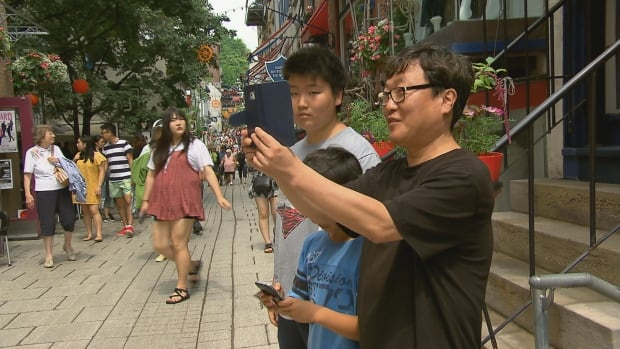 Asian tourists are flocking to Quebec City thanks to a handful of episodes of a popular Korean soap opera that were shot in the city.