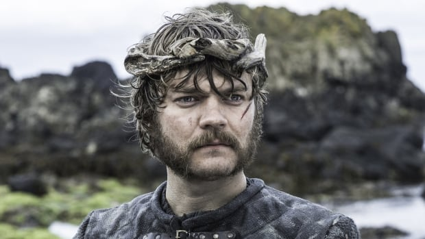 Pirate Euron Greyjoy from the wildly popular and widely pirated HBO TV series Game of Thrones.