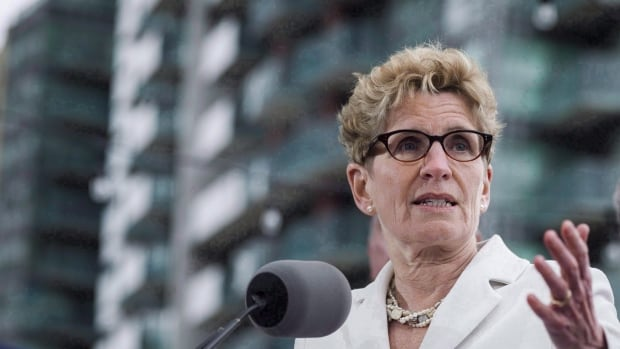 Wynne rejected the proposed taxes, but says she's open to hearing more ideas.
