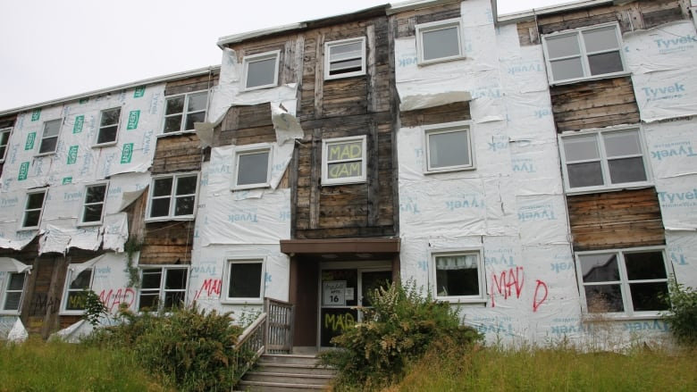 Saint John apartments in shambles after evictions 1 year ago