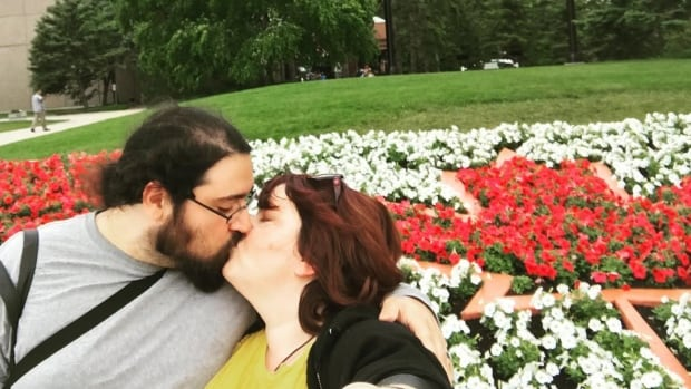 Kari and her husband Spenser Santos have been  soaking up the sights and sounds of Winnipeg for their honeymoon.