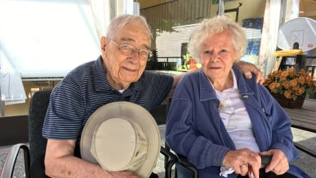 Bill and Violet celebrate 70 years of marriage