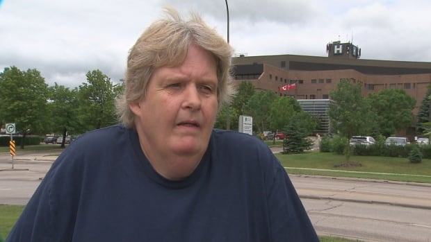 Daphne Hart is an outpatient physiotherapy patient and doesn't agree with the Winnipeg Regional Health Authority's plan to move outpatient physiotherapy to private practice this fall.