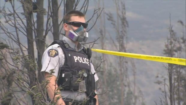 BC Wildfire police officer